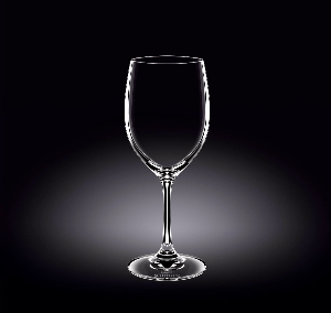 WINE GLASS 12 OZ - 350 ML SET OF 6 IN WHITE BOX