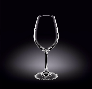 WINE GLASS 14 OZ - 420 ML SET OF 6 IN PLAIN BOX