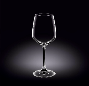 WINE GLASS 13 OZ - 380 ML SET OF 6 IN PLAIN BOX