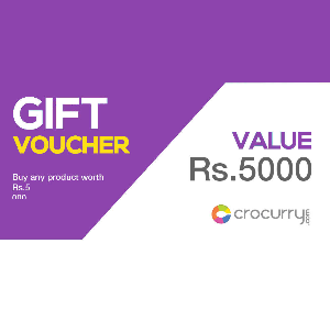 Crocurry Gift Voucher of Rs 2000