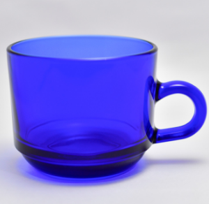PRIDE BLUE  COFFEE CUP