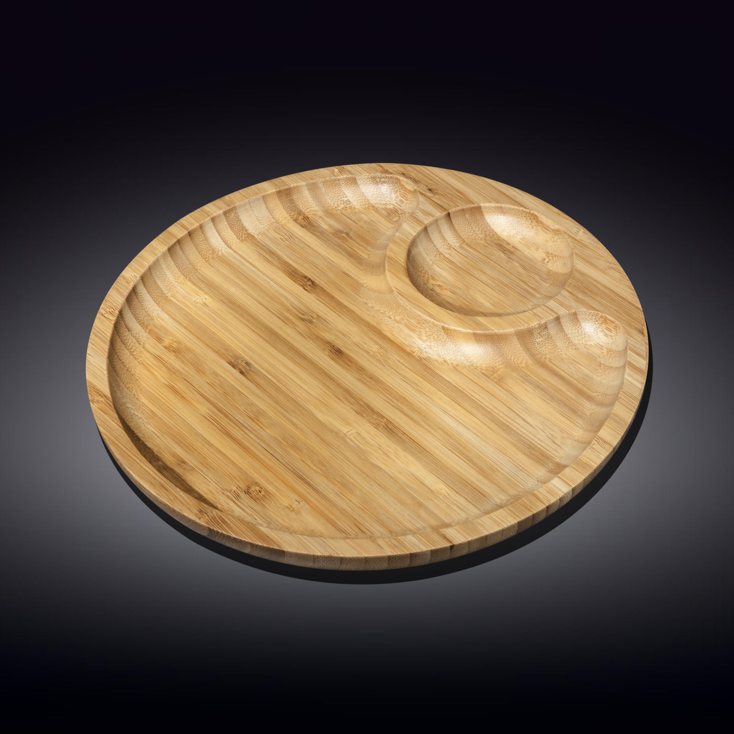 2 section platter 10inch  25 cm