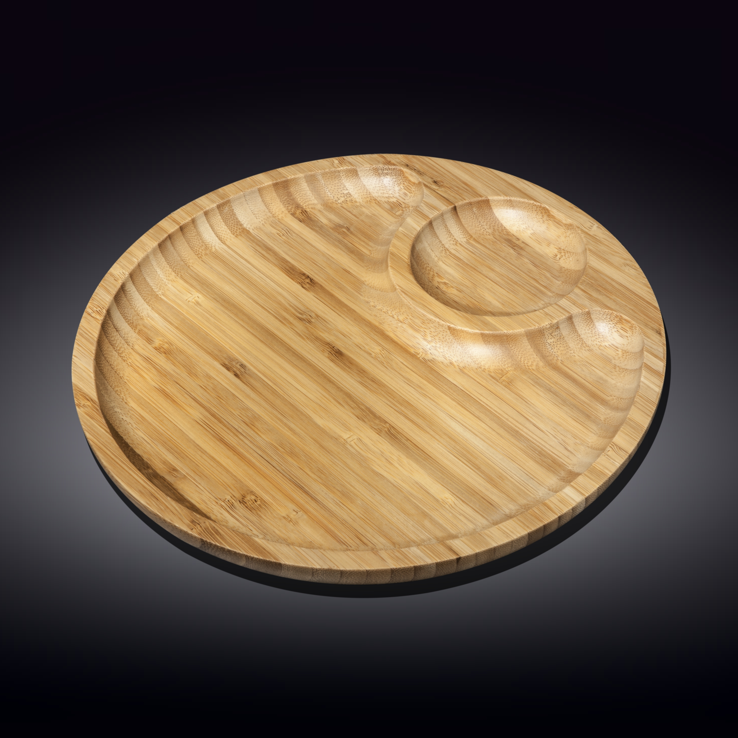 2 section platter 12inch  30.5 cm