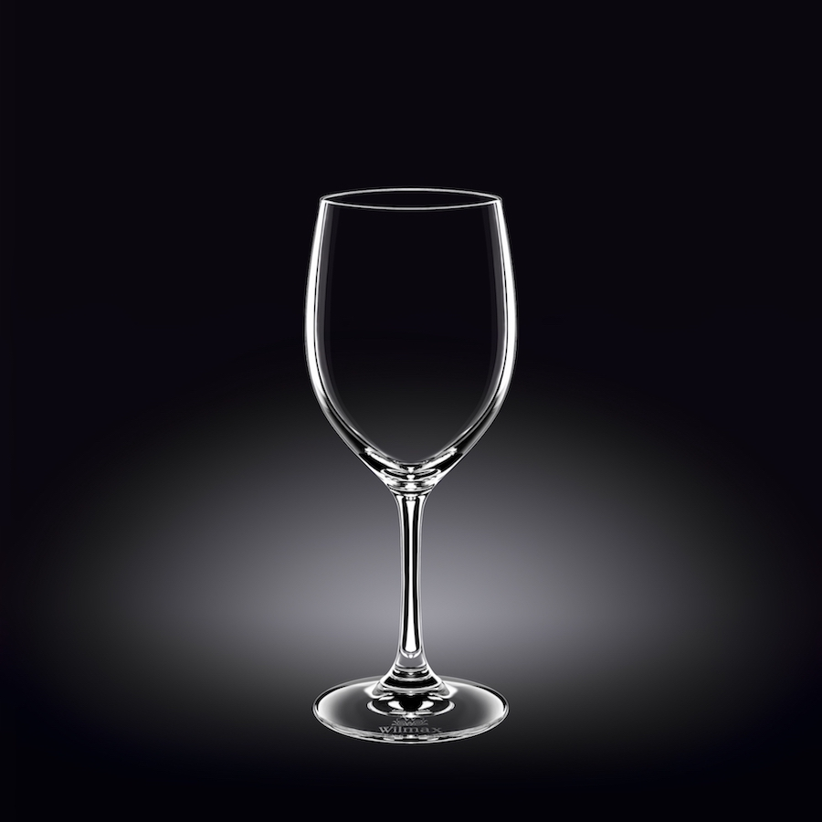 wine glass 12 oz  350 ml set of 6 in white box