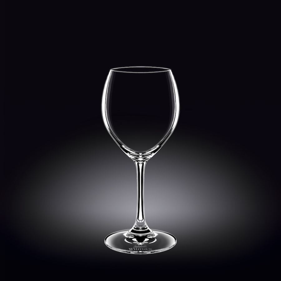 wine glass 12 oz  360 ml set of 6 in plain box