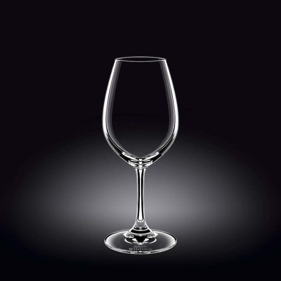 wine glass 14 oz  420 ml set of 6 in plain box