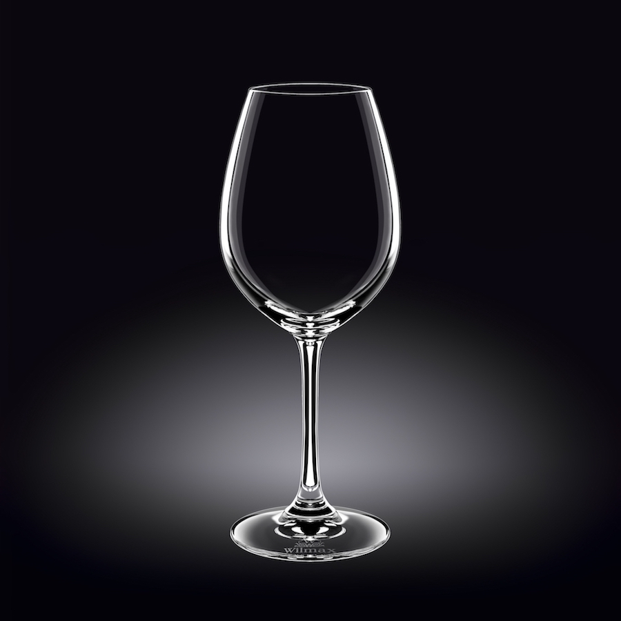 wine glass 18 oz  520 ml set of 6 in plain box