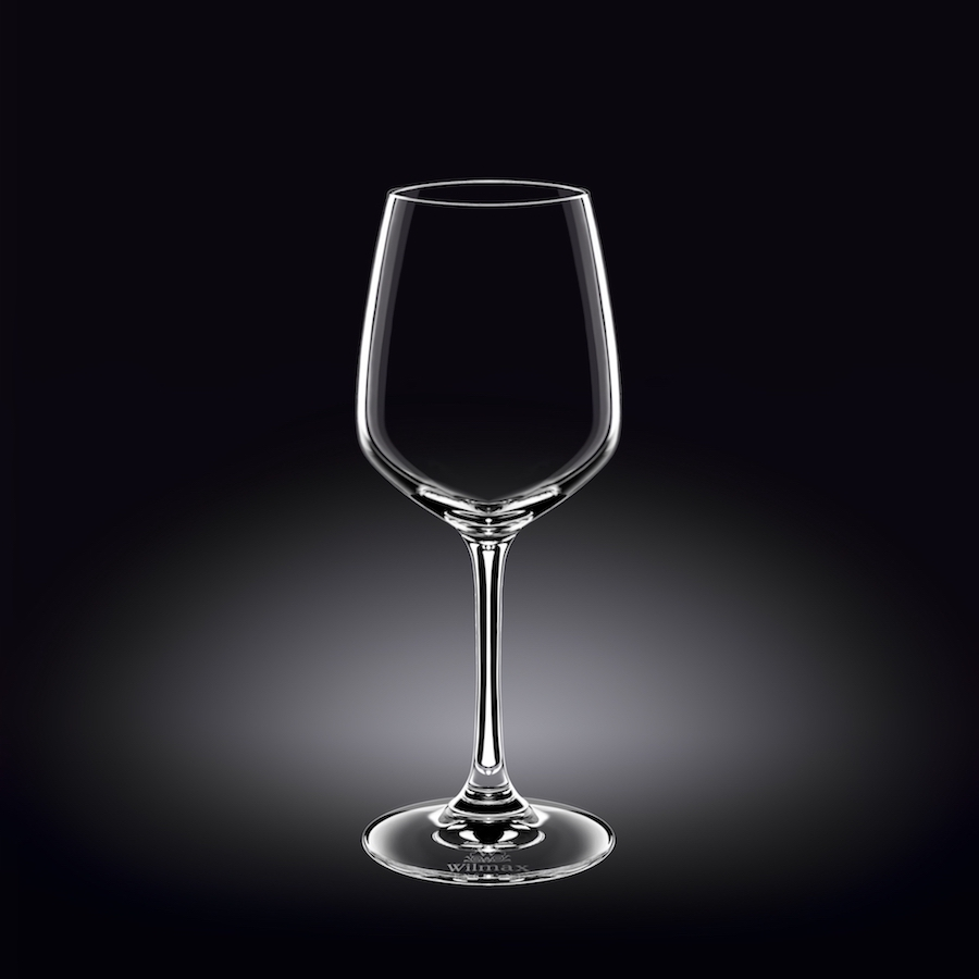 wine glass 13 oz  380 ml set of 6 in plain box
