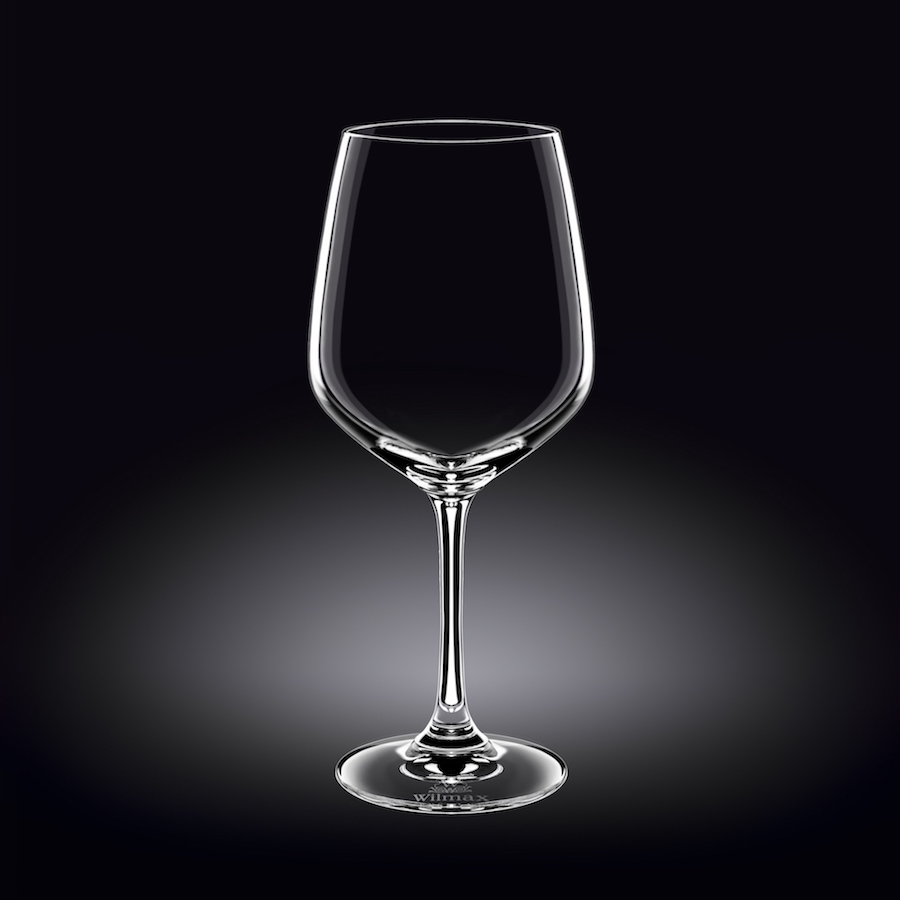 wine glass 21 oz  630 ml set of 6 in plain box