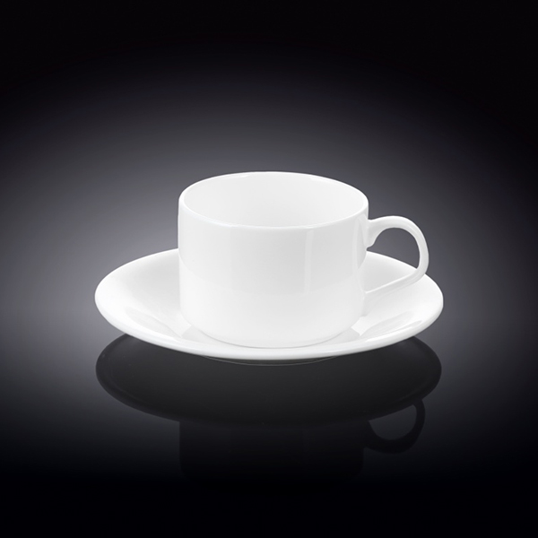 5 fl oz  160 ml tea cup and saucer set of 4 in colour box