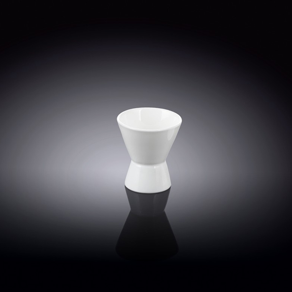 egg cup 1.75inch x 2inch  4.5 x 5.5 cm