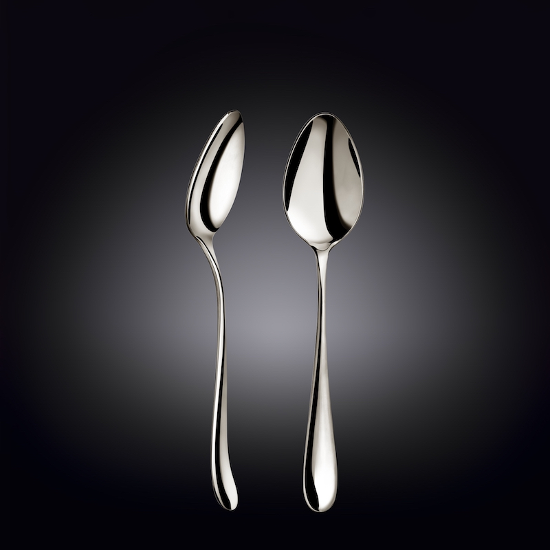 dinner spoon 8inch  21 cm white box packing