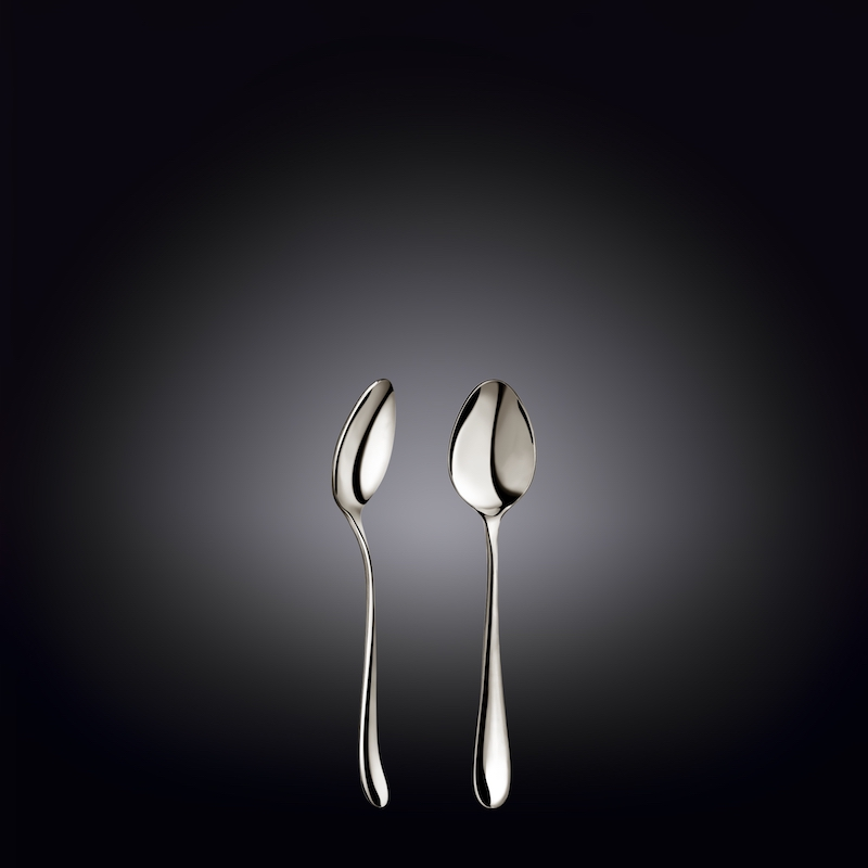 coffee spoon 4.5inch  11.5 cm white box packing