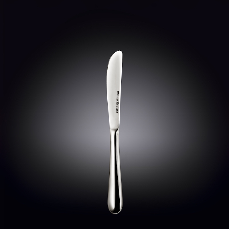 dessert knife 8inch  20.5 cm white box packing