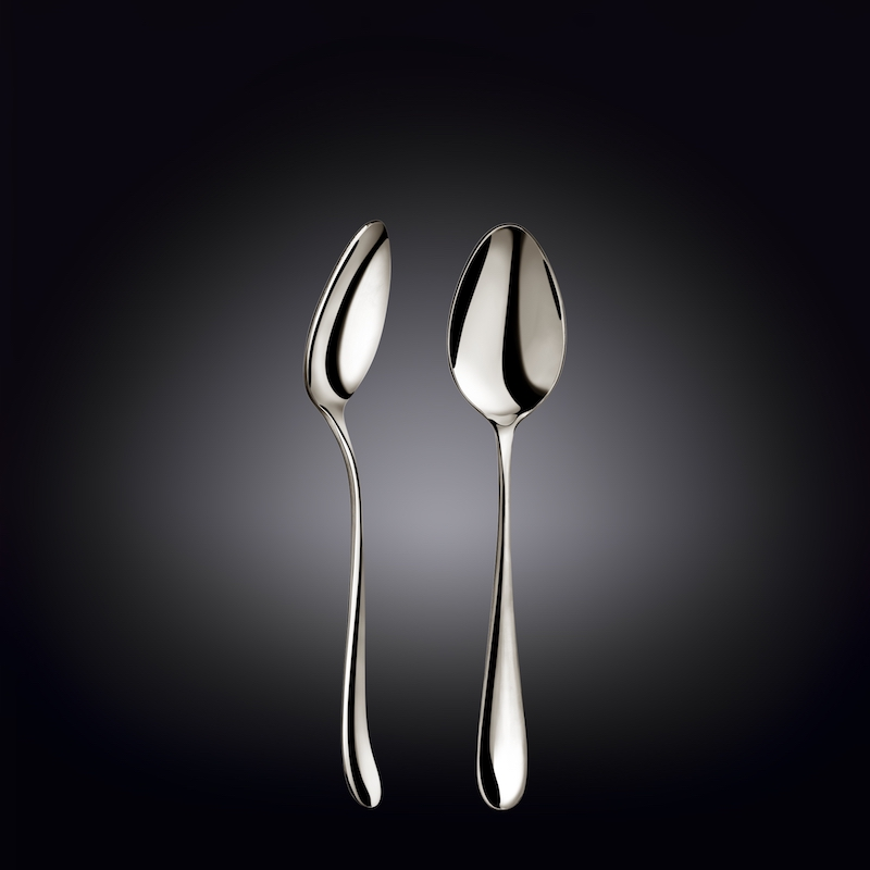 dessert spoon 7.5inch  19 cm set of 6  in colour box