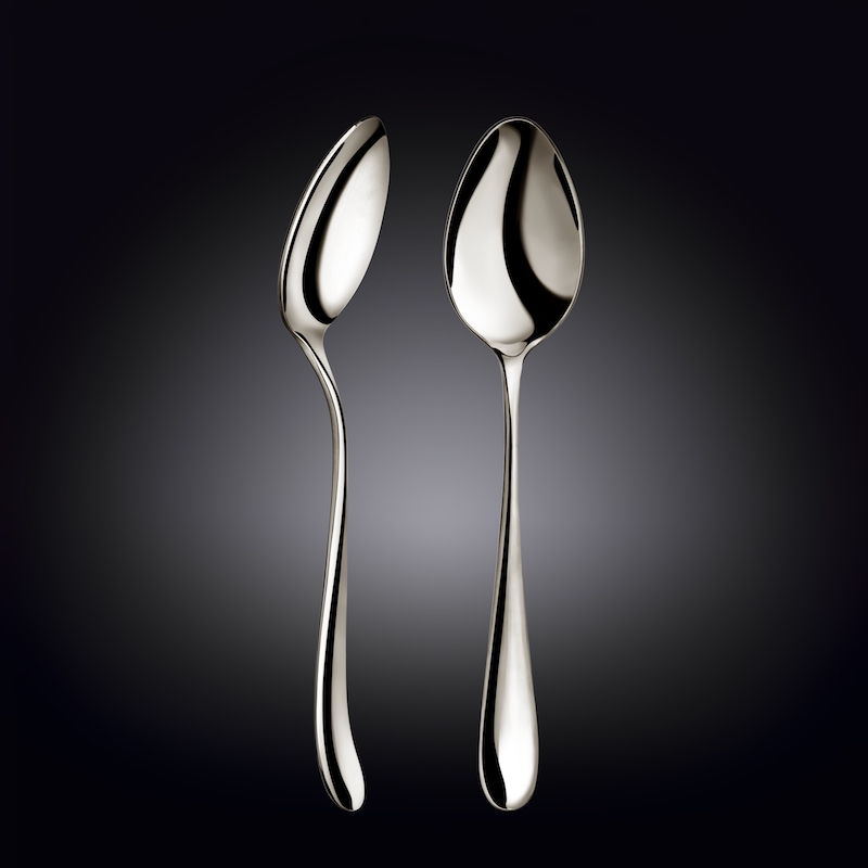 serving spoon 9.25inch  23.5 cm white box packing