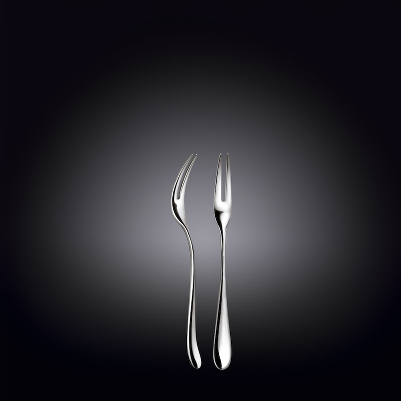 snail fork 4.75inch  12.5 cm set of 6  in colour box
