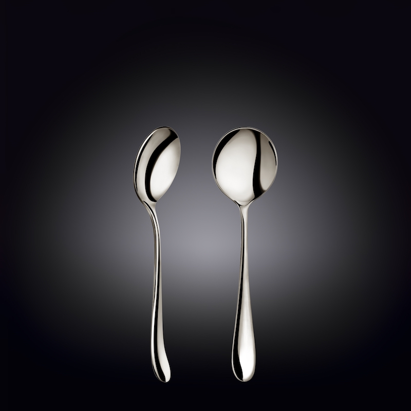 soup spoon 7inch  18 cm set of 6  in colour box