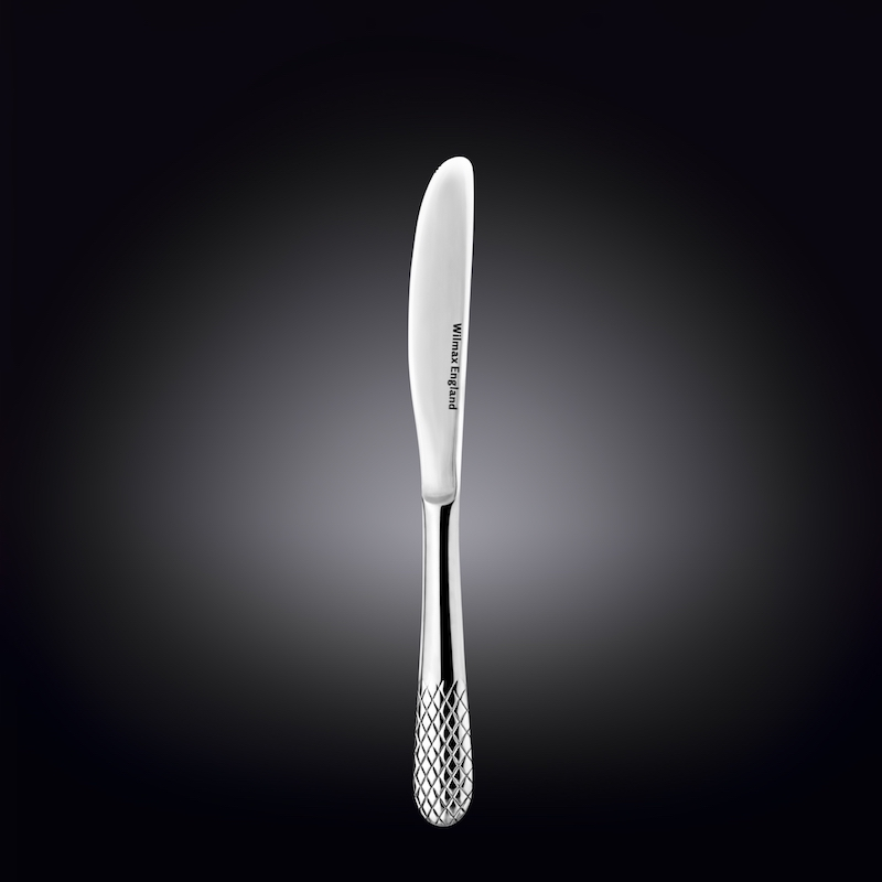 dinner knife 8.5inch  22 cm in white box
