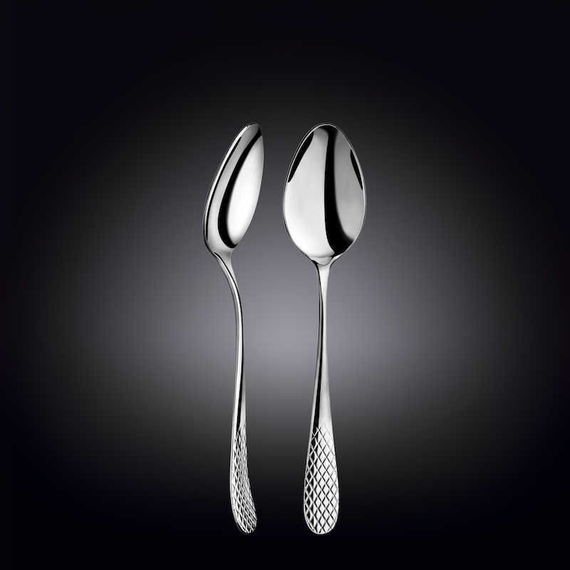 dinner spoon 8inch  21 cm in white box