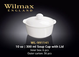 10 OZ | 300 ML SOUP CUP WITH LID
