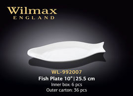 FISH PLATE 10inch | 25.5 CM