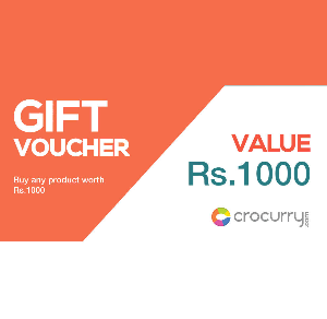 Crocurry Gift Voucher of Rs 1000