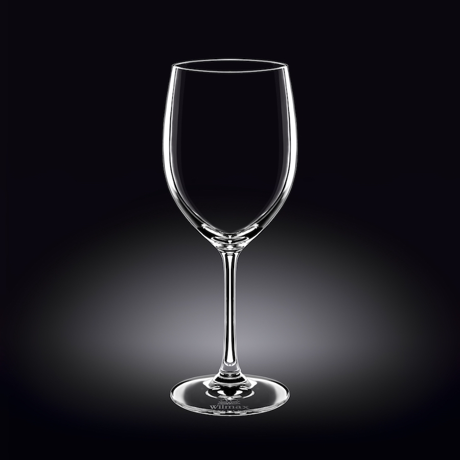 wine glass 18 oz  530 ml set of 6 in white box
