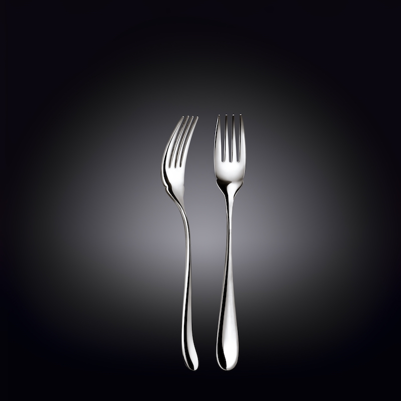fish fork 7.25inch  18.5 cm set of 6  in colour box