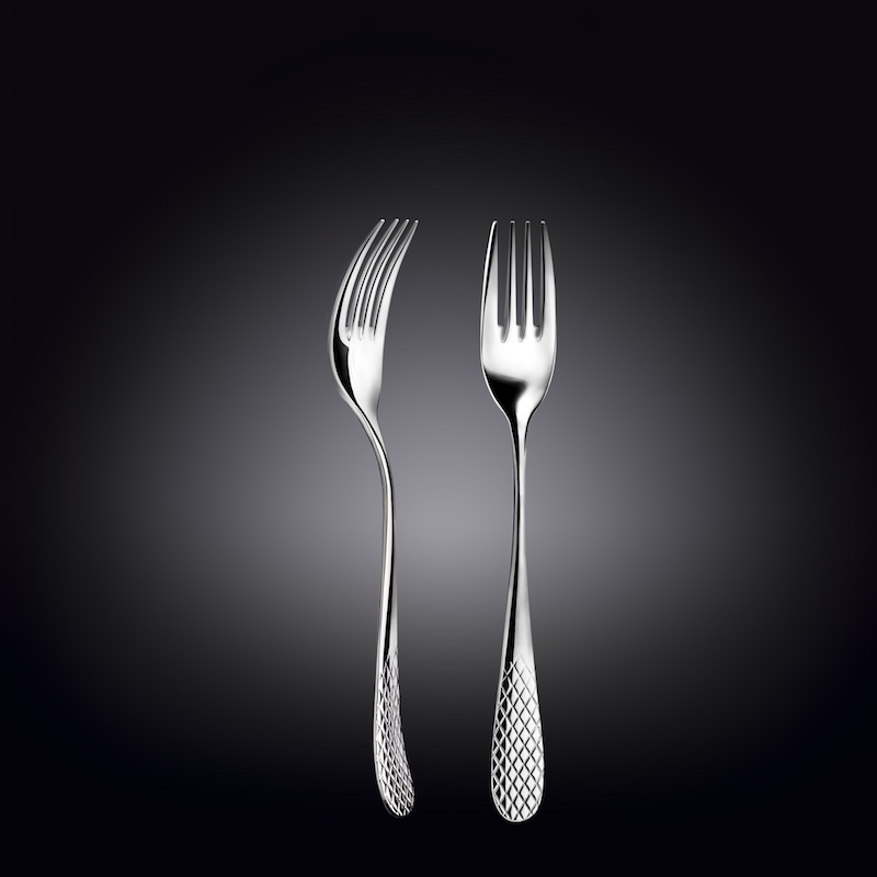 dinner fork 8inch  20 cm set of 6  in gift box