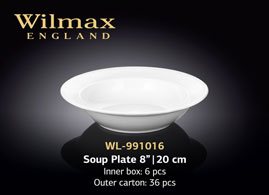 SOUP PLATE 8inch | 20 CM