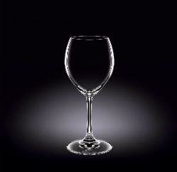WINE GLASS 12 OZ - 360 ML SET OF 6 IN PLAIN BOX