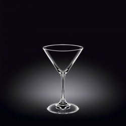 martini glass 5.5 oz  160 ml set of 6 in plain box