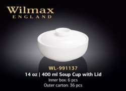 14 OZ | 400 ML SOUP CUP WITH LID