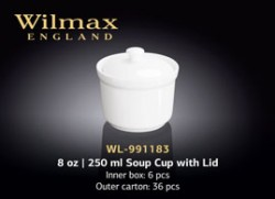 8 OZ | 250 ML SOUP CUP WITH LID