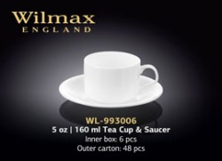 5 OZ | 160 ML TEA CUP & SAUCER