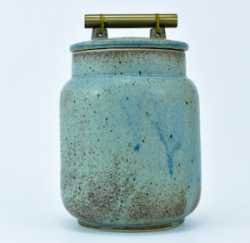 JAR CERAMIC NISHANT BLUE