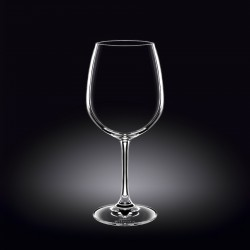 wine glass 20 oz  600 ml set of 6 in plain box