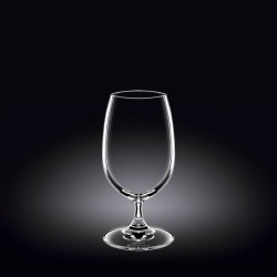 beer / water glass 14 oz  420 ml set of 6 in plain box