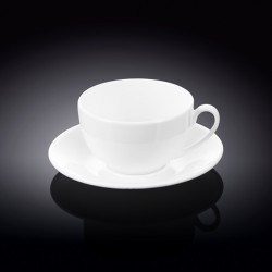 8 fl oz  250 ml tea cup and saucer  set of 2 in colour box