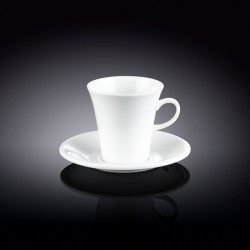 5 fl oz  160 ml coffee cup and saucer set of 4 in colour box