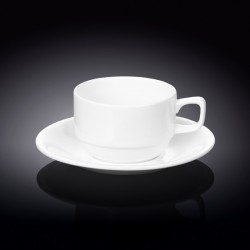 7 fl oz  220 ml tea cup and saucer in colour box