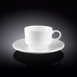 5 fl oz  140 ml coffee cup and saucer set of 6 in colour box