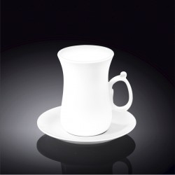 4 fl oz  120 ml tea cup and saucer