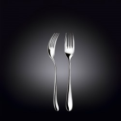 dessert fork 7.5inch  19 cm white box packing