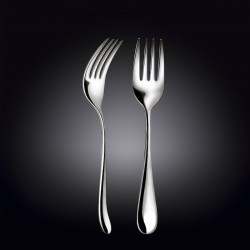 serving fork 9inch  23 cm white box packing
