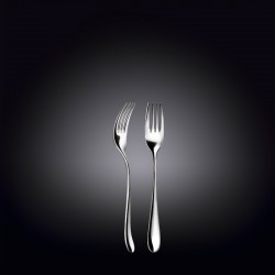 dessert fork 6.25inch  16 cm white box packing