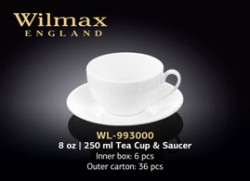 8 OZ | 250 ML TEA CUP & SAUCER